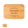 Tabla madera cocina personalizada