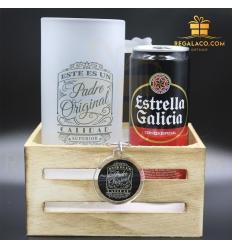 set2 papa jarra+llavero+cerveza